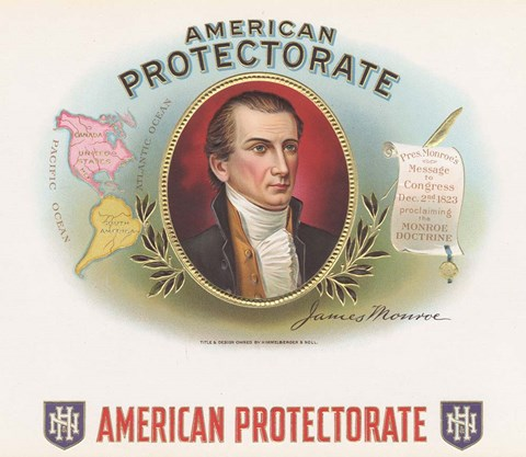 Framed American Protectorate Print
