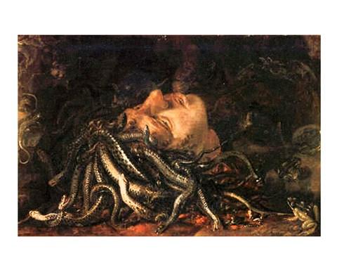Medusa Fine Art Print By Leonardo Da Vinci At