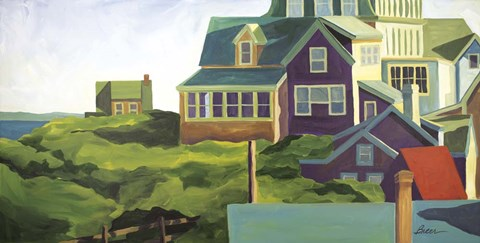 Framed Monhegan Morning Print