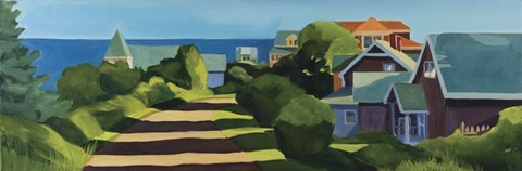 Framed Monhegan Afternoon Print