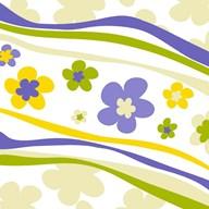 Flower Trail  Fine Art Print