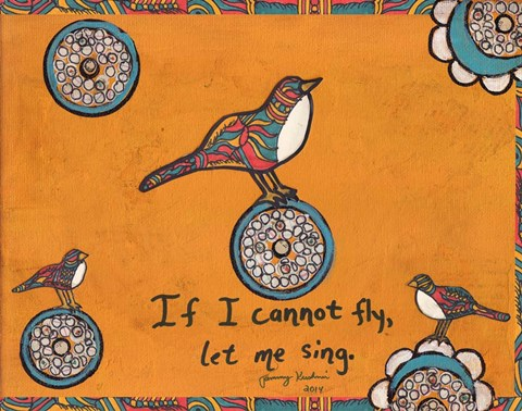 Framed If I Cannot Fly Print