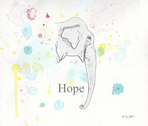 Framed Hope 2 Print