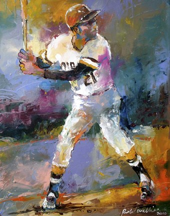 Roberto Clemente Fine Art Print By Richard Wallich At