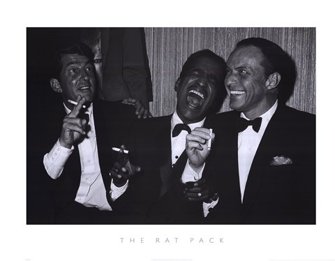 Framed Rat Pack Print