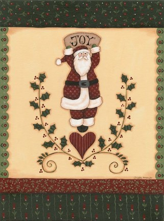 Framed Christmas Quilts II Print