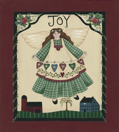 Framed Joy Angel Print