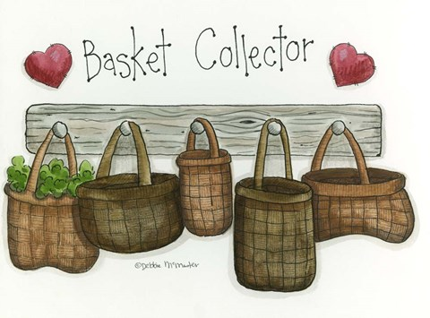 Framed Basket Collector Print