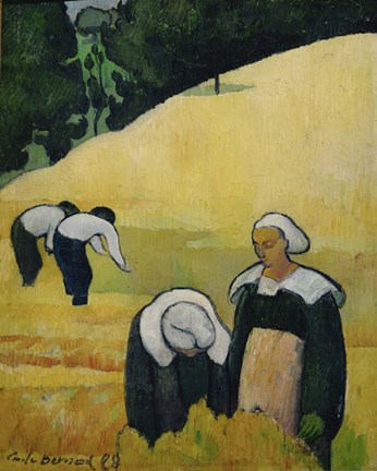 Framed Harvest, 1888 Print