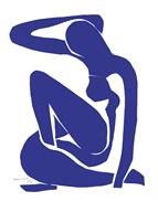 Blue Nude I  Fine Art Print