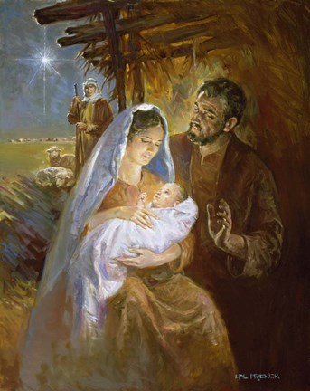 Nativity Fine Art Print By Hal Frenck At Fulcrumgallery Com