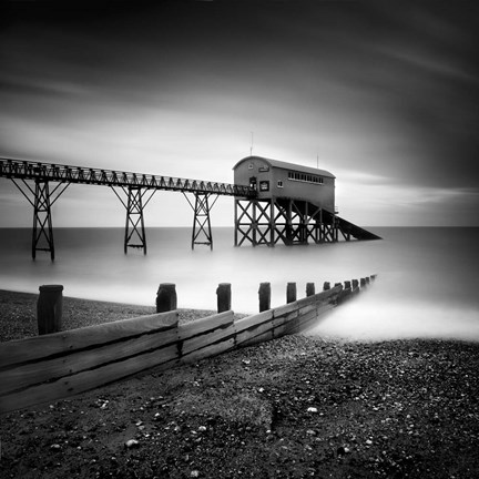 Framed Selsey Lifeboat Station II Print