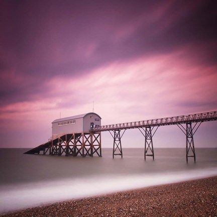Framed Selsey Lifeboat Station Print