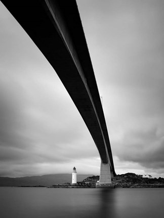 Framed Skye Bridge Print