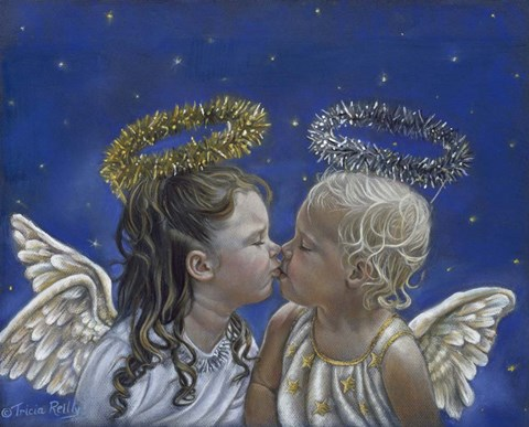 Framed Angel Kisses Print