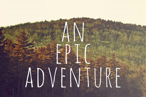 Framed Epic Adventure Print
