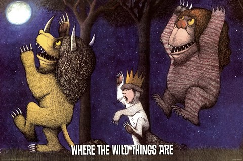 Framed Where The Wild Things Are Print