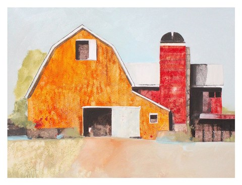 Framed Barn No. 3 Print