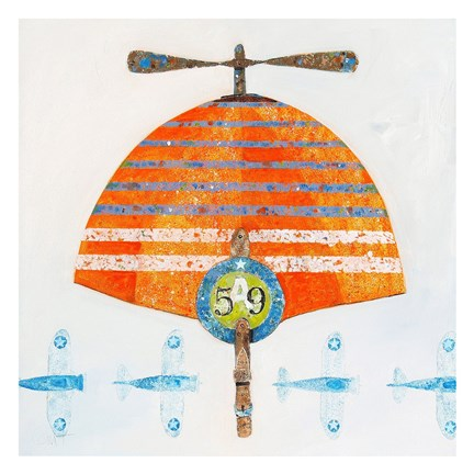 Framed Cap No. 59 Print