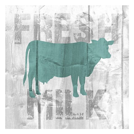 Framed Fresh Milk Print