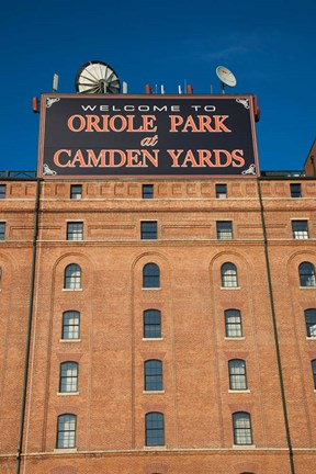 Oriole Park At Camden Yards Baltimore Maryland Fine Art