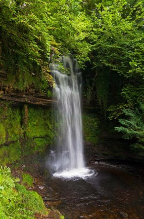 Framed Glencar Waterfall, County Leitrim, Ireland Print