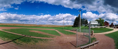 Framed Field of Dreams, Dyersville, Iowa Print