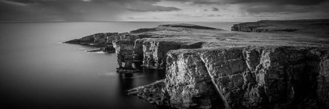 Framed Sea Stacks, Yesnaby, Orkney, Scotland Print