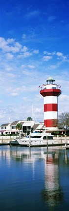 Framed Harbour Town Lighthouse, Hilton Head Island, South Carolina Print