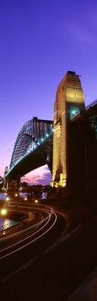Framed Australia, Sydney, Harbor Bridge Print