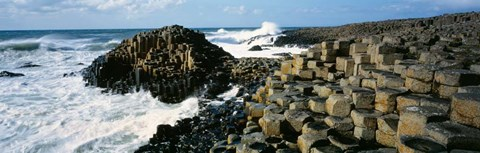 Framed Giants Causeway, Ireland Print