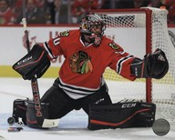 Corey Crawford 2015-16 Action  Fine Art Print