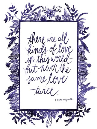 Framed Love Quote IV Print