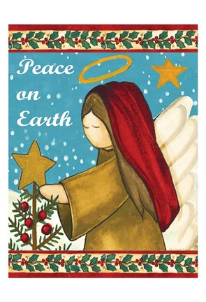 Framed Peace on Earth 2 Print