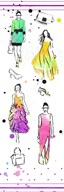 Colorful Dresses  Fine Art Print