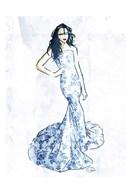 Oriental Dress Mate  Fine Art Print
