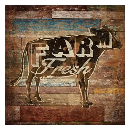 Framed Farm Fresh Print