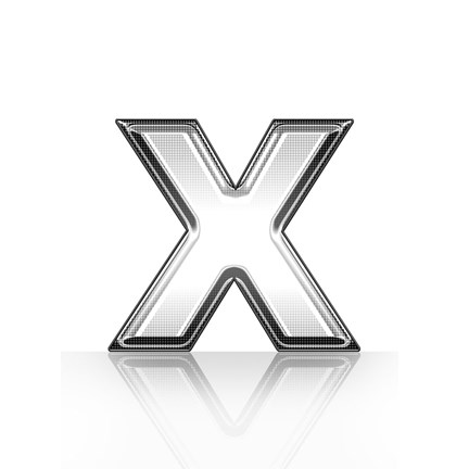 Framed Tree Grouping Black On Grey Print