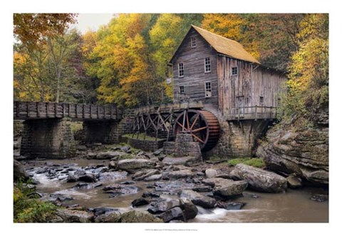 Framed Mill & Creek I Print