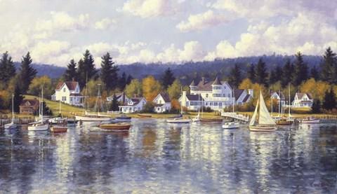 Gig Harbor Summer Fine Art Print By Randy Van Beek At