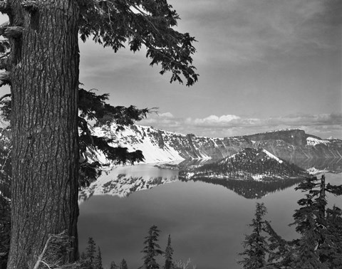 Framed Crater Lake #1 Print