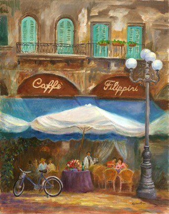 Framed Caffe Filippini Print