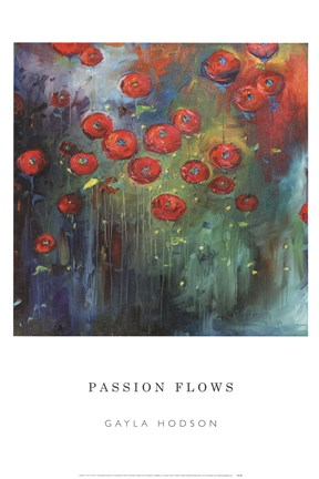 Framed Passion Flows Print