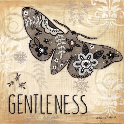 Framed Gentleness Print