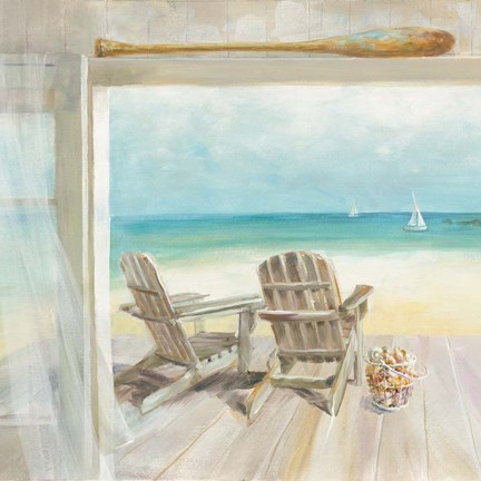 Seaside Morning Crop Fine Art Print By Danhui Nai At