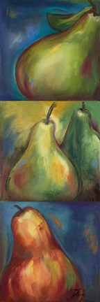 Framed Pears 3 in 1 I Print