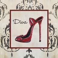 Diva Shoe  Fine Art Print
