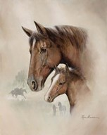 Race Horse I Art