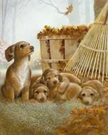 Autumn Playtime Art