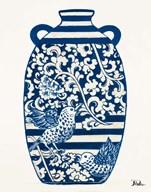 The Indigo Pottery I  Fine Art Print